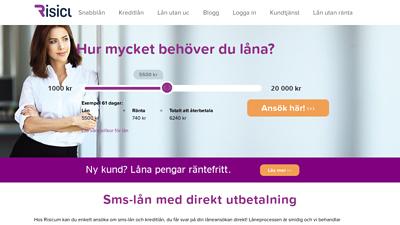 screenshot Risicum