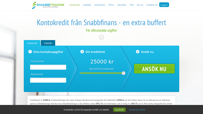 screenshot snabbfinans