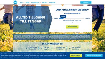 screenshot euroloan
